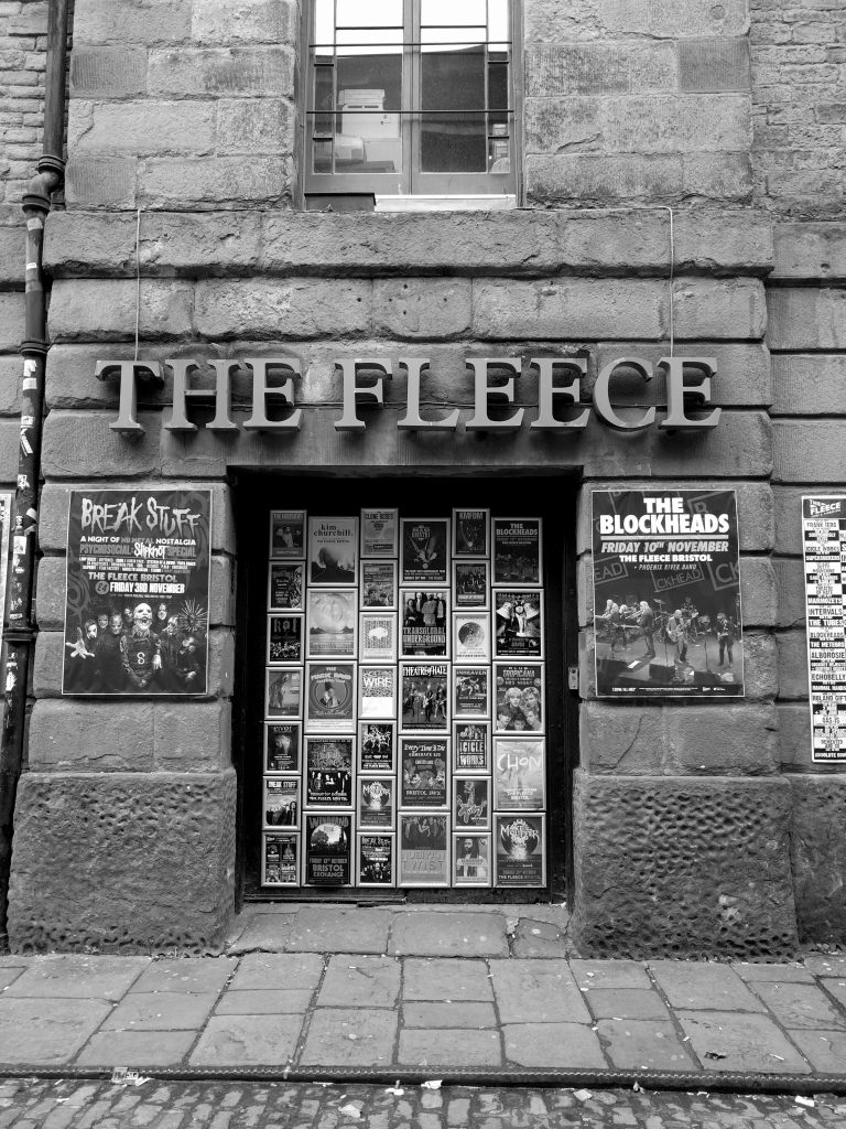The Fleece entrance