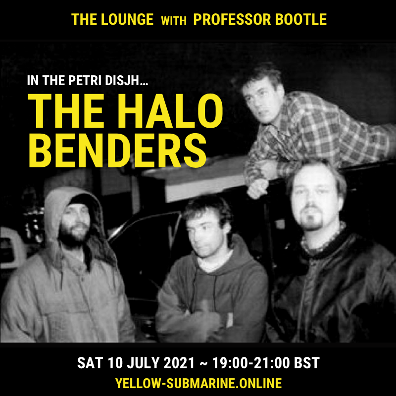 Flyer for radio show The Lounge - Episode 7