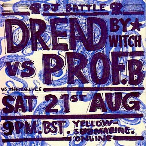 DJ Battle #1 flyer